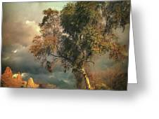 Tree Of Confusion Greeting Card