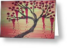 Tree Of Desire 2 Greeting Card