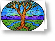 Tree Of Grace - Spring Greeting Card