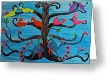 Tree Of Life Greeting Card by Melanie Wadman