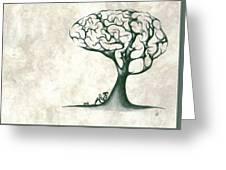 Tree Of Lknowledge Greeting Card