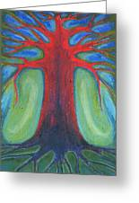 Tree Of Quiet Greeting Card