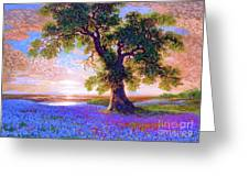 Tree Of Tranquillity Greeting Card