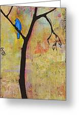 Tree Print Triptych Section 3 Greeting Card