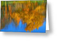 Tree Reflection 'painting' Greeting Card