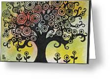 Tree Song Greeting Card