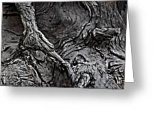 Tree Trunk Abstract Greeting Card