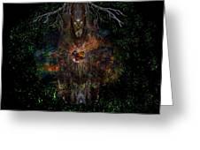 Tree Wizard Greeting Card