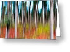 Treecolour Greeting Card