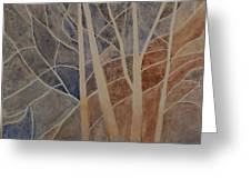 Trees In The Dead Of Winter Greeting Card