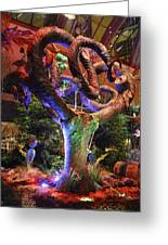 Trees Of Bellagio Greeting Card