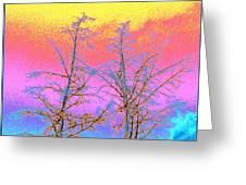 Treetops 1 Greeting Card