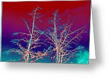 Treetops 4 Greeting Card