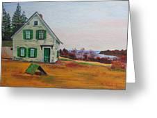 Trehaus Acadia Maine Greeting Card