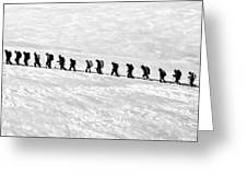Trekking - Id 16235-142808-3638 Greeting Card