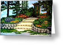 Trellace Gardens Greeting Card