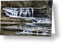Treman Cascades #4 Greeting Card