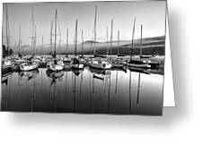 Tremblant Marina Greeting Card