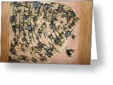 Tresses - Tile Greeting Card