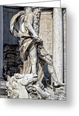 Trevi Fountain - Rome Greeting Card