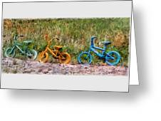 Tri Bike Greeting Card