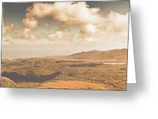 Trial Harbour Landscape Panorama Greeting Card