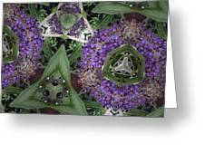 Triangle Surrounded Greeting Card