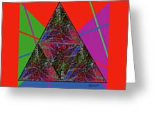 Triangular Thoughts Greeting Card