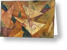 Triangulation Greeting Card