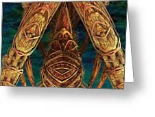 Tribal Ancestors Greeting Card