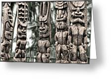 Tribal Council Greeting Card