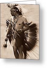 Tribal Dancer Greeting Card