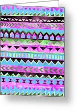 Tribal Pattern 01 Greeting Card