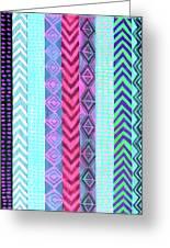 Tribal Pattern 04 Greeting Card