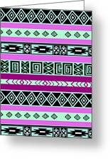 Tribal Pattern 06 Greeting Card