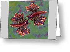 Tribal Sea Creature 1 Greeting Card