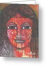 Tribal Woman Greeting Card