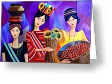 Tribal Women Greeting Card