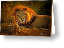 Tribute To Cecil Greeting Card