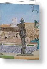 Tribute To Cezanne Greeting Card