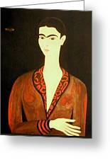 Tribute To Frida Greeting Card