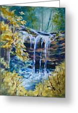 Trickles From Heaven II Greeting Card