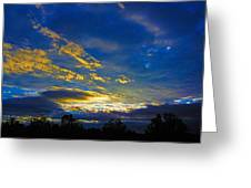 Tricky Sunrise Greeting Card