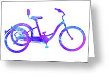 Tricycle Art Greeting Card