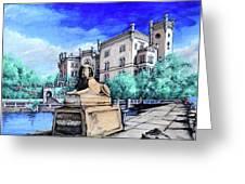 Trieste  Castello Di Miramare Greeting Card