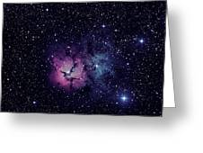 Trifid Nebula M20 Greeting Card