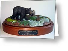 Trillium Creek Bear Greeting Card