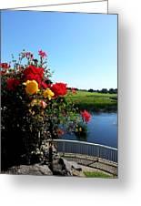Trim Florals Greeting Card