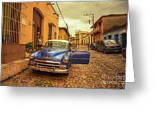 Trinidad Chevy Blues  Greeting Card