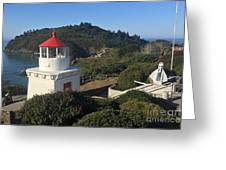 Trinidad Head Memorial Lighthouse, California Lighthouse Greeting Card